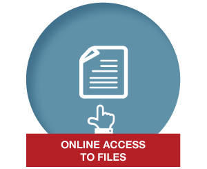 Files are uploaded to our Cloud based portal or your practice management software so you can simply retrieve files, insert documents & view matter details & destruction dates.