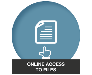 Your files are uploaded to the Fileman web-based portal and your practice management software. You can simply retrieve files, insert documents and view matter history and destruction dates.