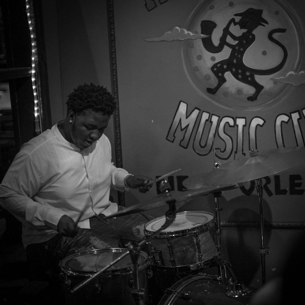Thomas Glass - Drums