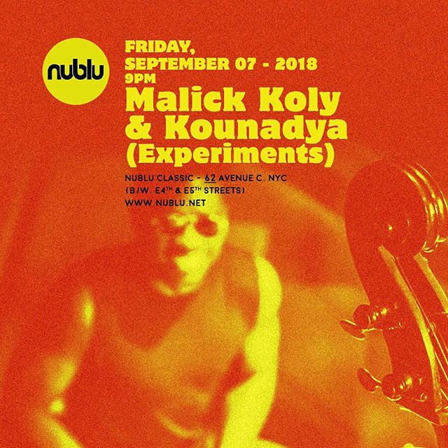 Bringing some NEW MATERIAL @ NUBLU CLASSIC tommorow at 9!  Come check us out! 62 Avenue C in Alphabet City!