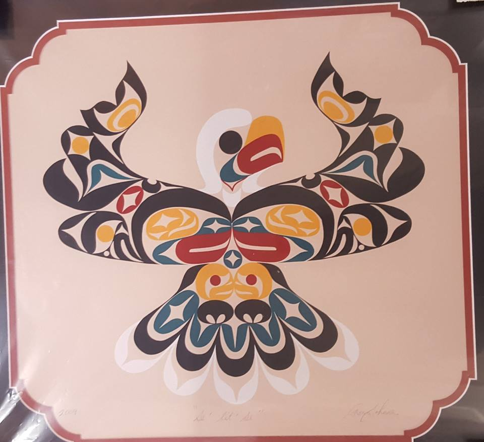 Eagle Print - Se'lit'se by Ron Johnson Jr. Lummi and Makah Tribes