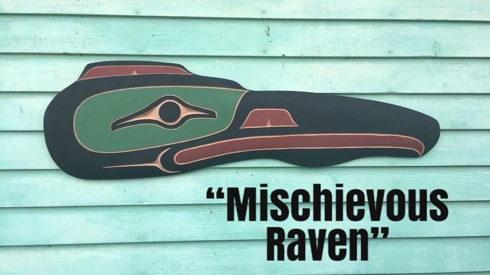 Mischievous Raven - Kevin Paul, Swinomish Tribe and Senate Member