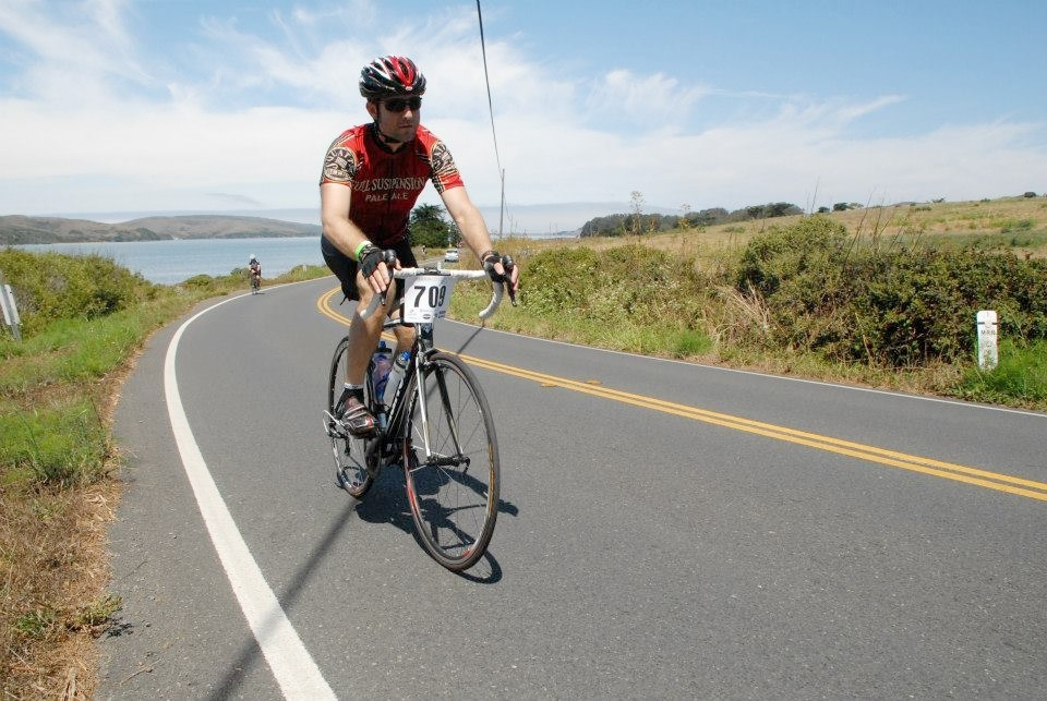 Marin County Century ride