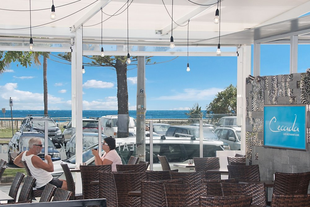 Absolute beachfront Cafe / Wine Bar! - This restaurant has been successfully owned and operated for many years, all staff are in place and the business continues to succeed year after year.Located beachside in the podium level of arguably the most popular high rise residential building in town!