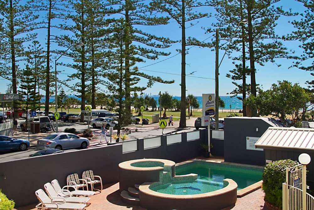 Coolangatta Beachfront Management Rights! - Aries Holiday Apartment complex is an exceptional investment opportunity on the beachfront in the heart of Coolangatta.This is a great entry point for someone new to the industry, couple, or a savvy operator to take advantage of this beachfront location with huge potential for further growth.