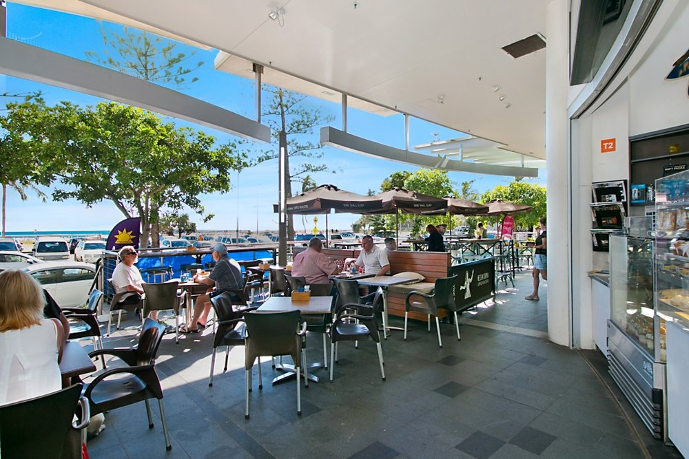 Largest oceanfront alfresco opportunity on the market! - Lifestyle, income & location are the name of the game and this cafe offers all 3, undoubtedly sitting in one of the best beachside locations that sunny Coolangatta has to offer.Designed as an owner operator business with 1-2 casual staff members, the very low overheads and outgoings make this business an exceptional, entry level buy and it's been priced to sell!