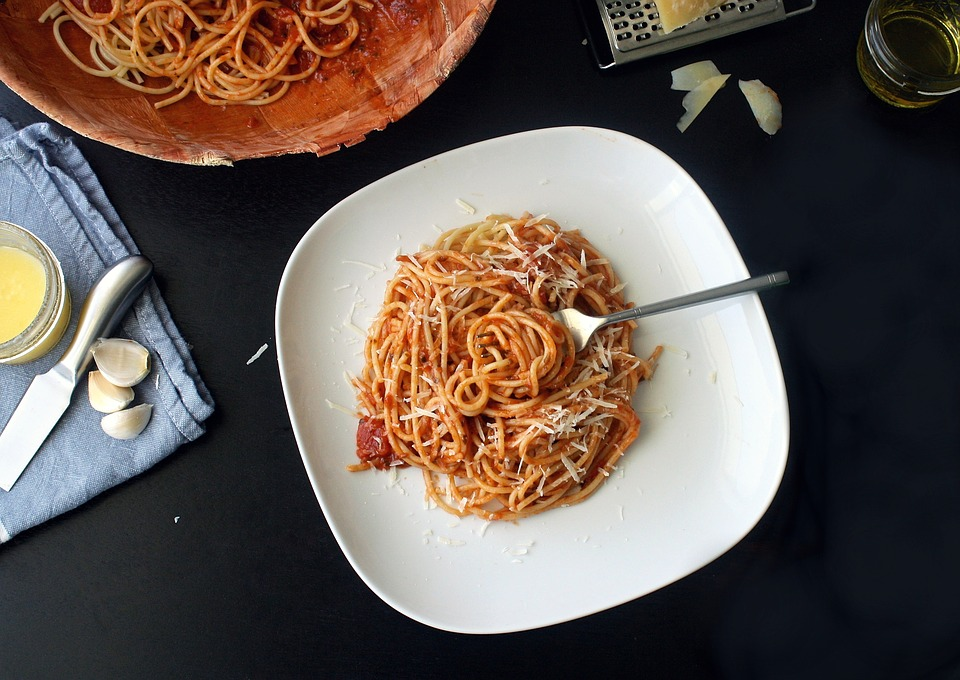 Spaghetti  ABSOLUTELY CAUGHT US BY SURPRISE, BUT YES! SPLASH A BIT OF ASADO SAUCE IN YOUR SPAGHETTI SAUCE FOR AN ADDED BOOST OF FLAVOUR.