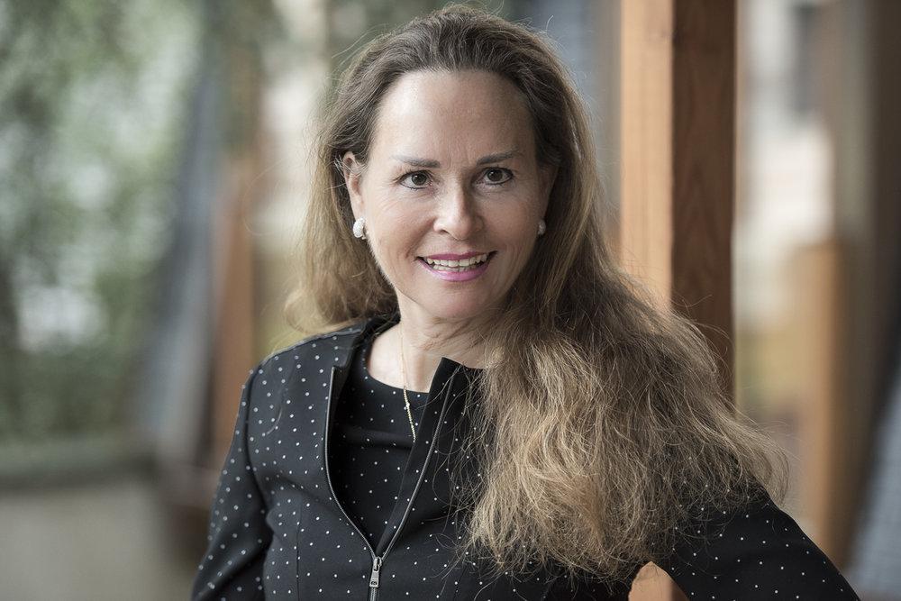 Die Inhaberin von xStanding, Andrea Frank