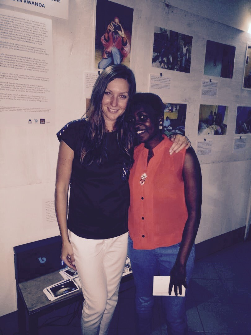 Together with Marceline who worked with me on this project.