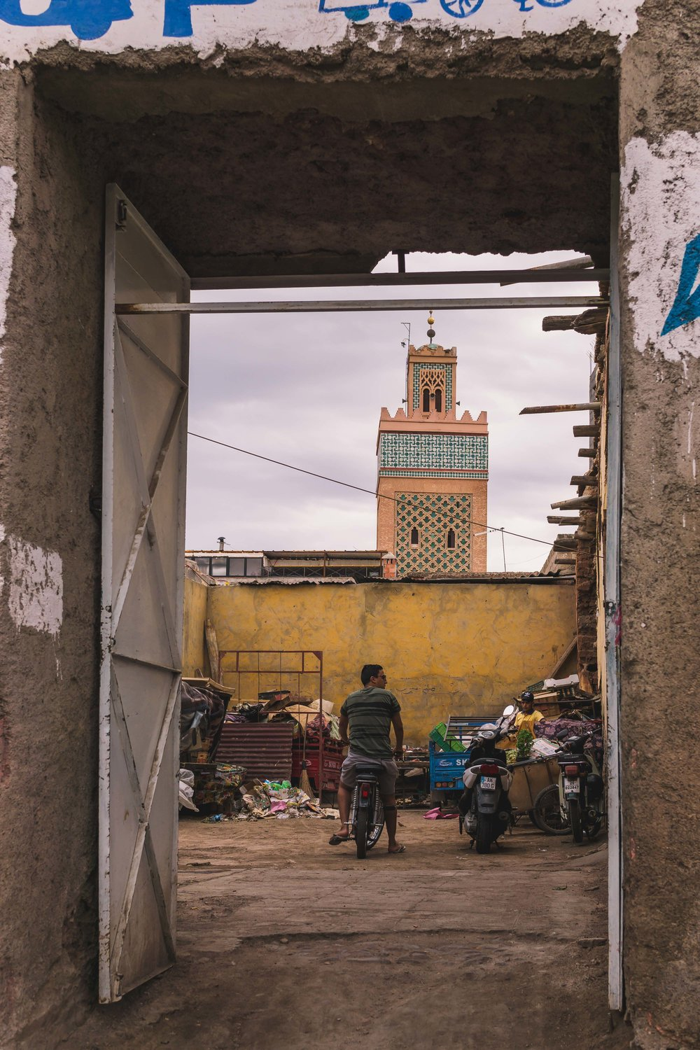 Moulay El yazid Mosque II, Marrakech, 2018