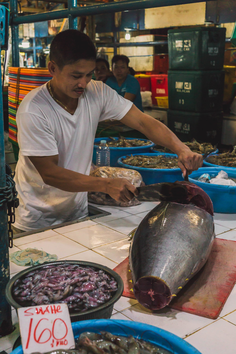 Tuna sashimi, the Philippines