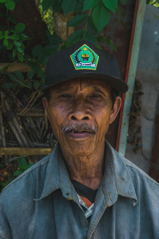 Balinese man II, Indonesia