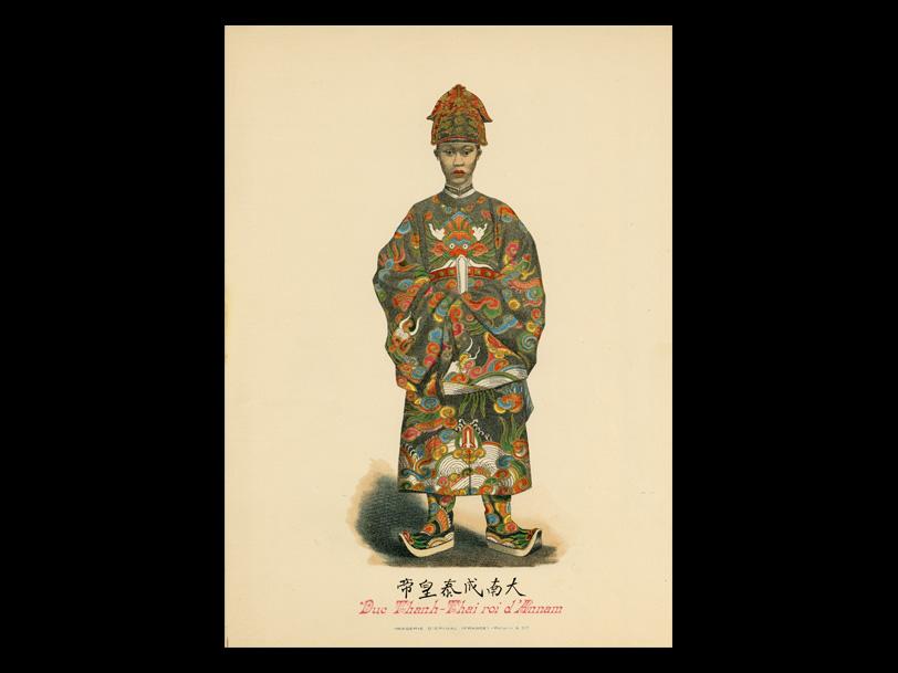 Image d'Épinal® DUC THANH THAï – réalisée en 1902