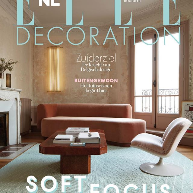 Elle Deco Netherlands chooses our exotic birds wallpaper this month 😊