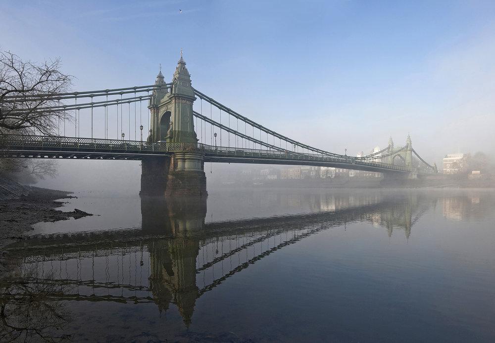 Hammersmith Bridge in the Fog WR.jpg