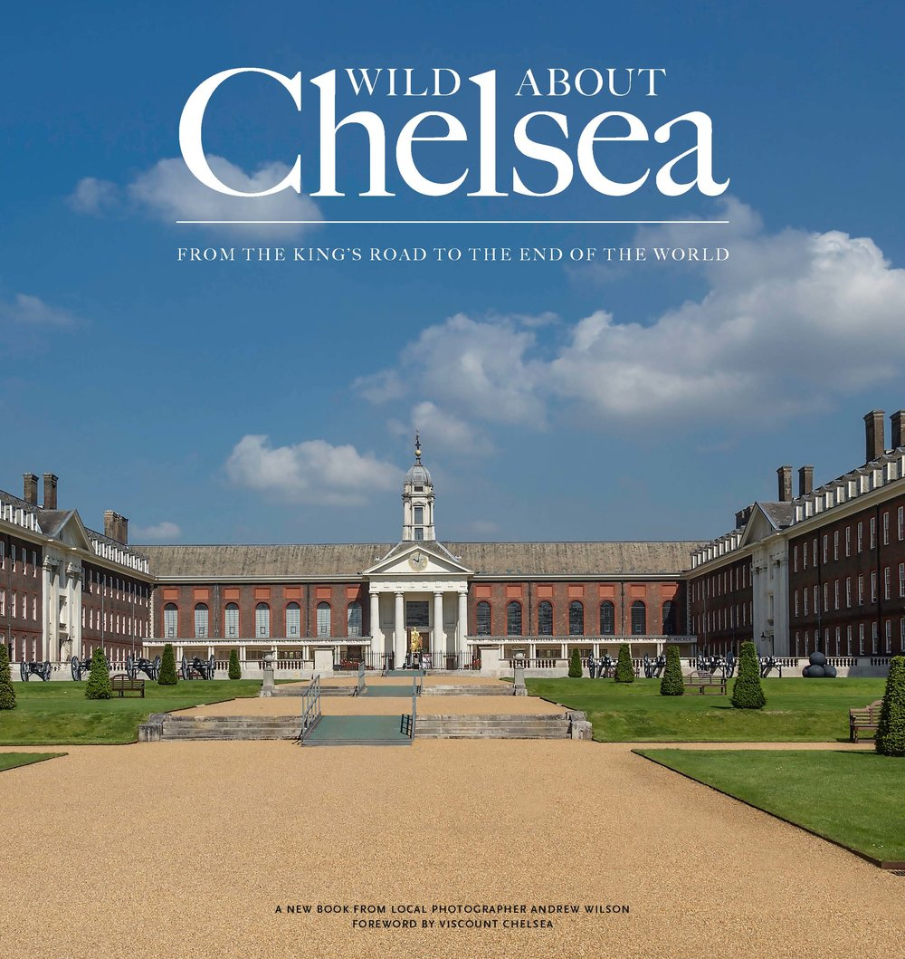Wild about Chelsea  £21.99  To walk through Chelsea today is to travel through history; in a little over 400 years, its transformation from a riverside hamlet to a Royal Borough has been immense. From the wonderful array of people who have lived here, from Sir Thomas More and Thomas Carlyle to some of the most famous artists to have ever graced these shores, Whistler and Turner to name but two, Chelsea has them all. Add to this the wonderful architecture, from the delights of Sloane Square, past The Royal Hospital and onto the river and you have the best of everything. Join me as I explore all this with my camera and much much more, and discover for yourself why Chelsea is one of the most vibrant and desirable places to live, work and visit in London.