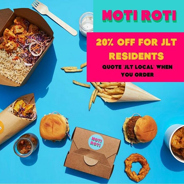 For our JLT homies 👳🏽♀️ Call us and say 'JLT Local'📞 #motiroti #PakistaniSoulKitchen  Call 04 243 2943