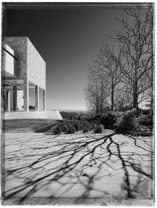 Christopher Thomas, Getty Center I, Brentwood, 2017 -