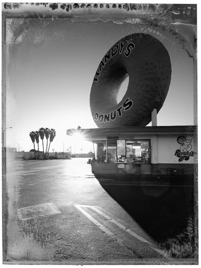 Christopher Thomas, Randys Donuts, Inglewood, 2017 -