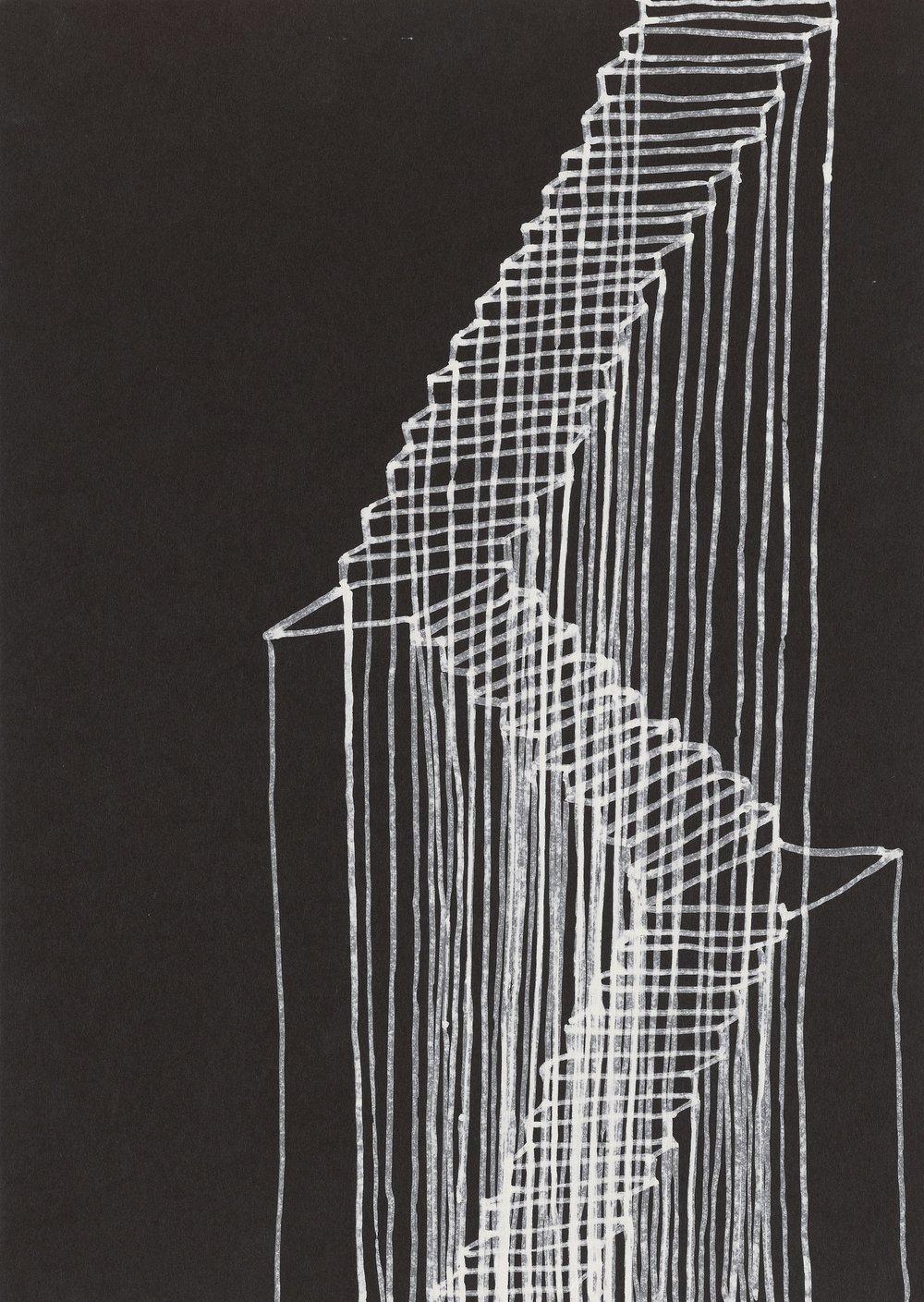 Rachel Whiteread,Stairs, 1995 © Rachel Whiteread | Courtesy of the artist and Gagosian -