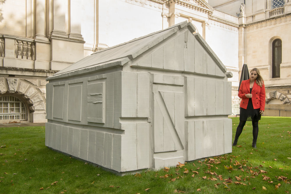 Rachel Whiteread, Untitled (chicken shed), 2017, Installation views at Tate Britain | Photo © Tate, Joe Humphrys -