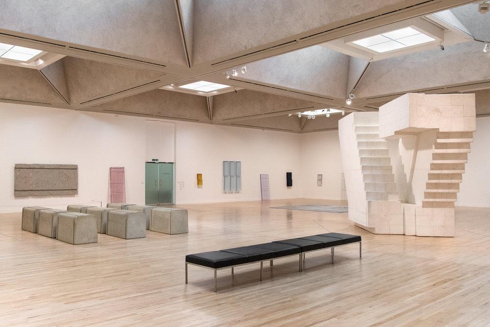 Installation views of Rachel Whiteread at Tate Britain | Photo © Tate, Joe Humphrys -