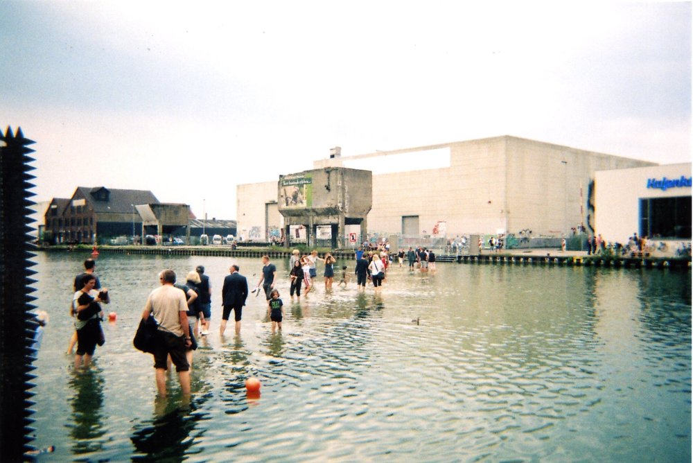 Ayse Erkmen 'On Water' at Stadthafen - Municipal Harbour | Photography by Fiona Grady -