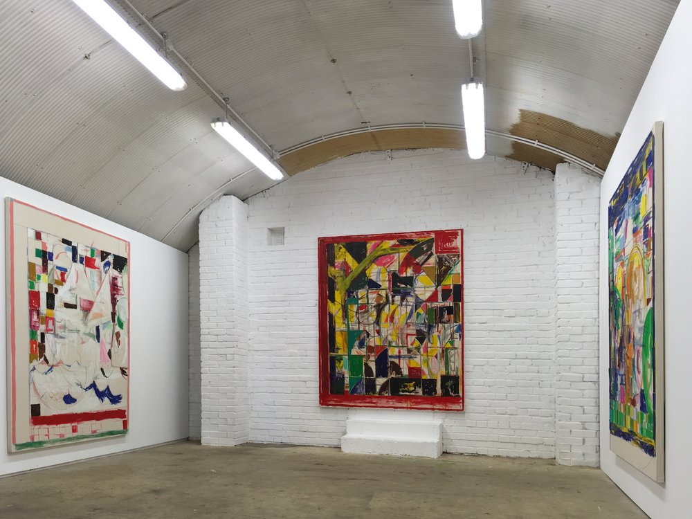 Dominic Kennedy at Ridgeway Road, 2017| Image courtesy of the gallery -