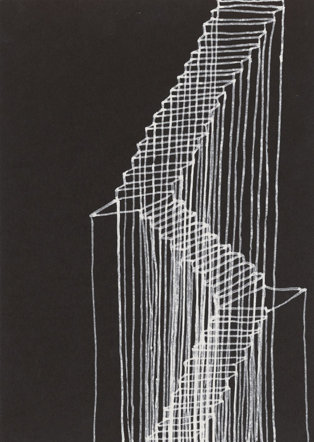 Rachel Whiteread, Stairs, 1995 © Rachel Whiteread | Courtesy of the artist and Gagosian -