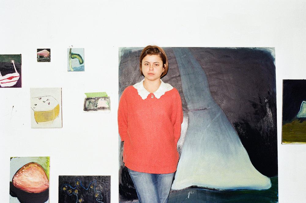 gabriela giroletti, studio visit by dateagleart. photography by carla benzing