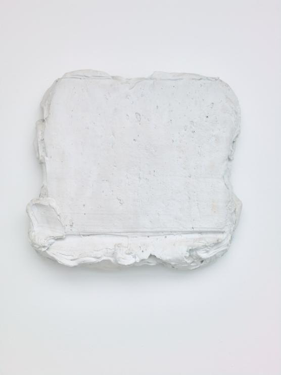 Bram Bogart, Blanc, 2016 | Bram Bogart: Witte de Witte, 2017 | Courtesy SALON, Saatchi Gallery, and Vigo Gallery -