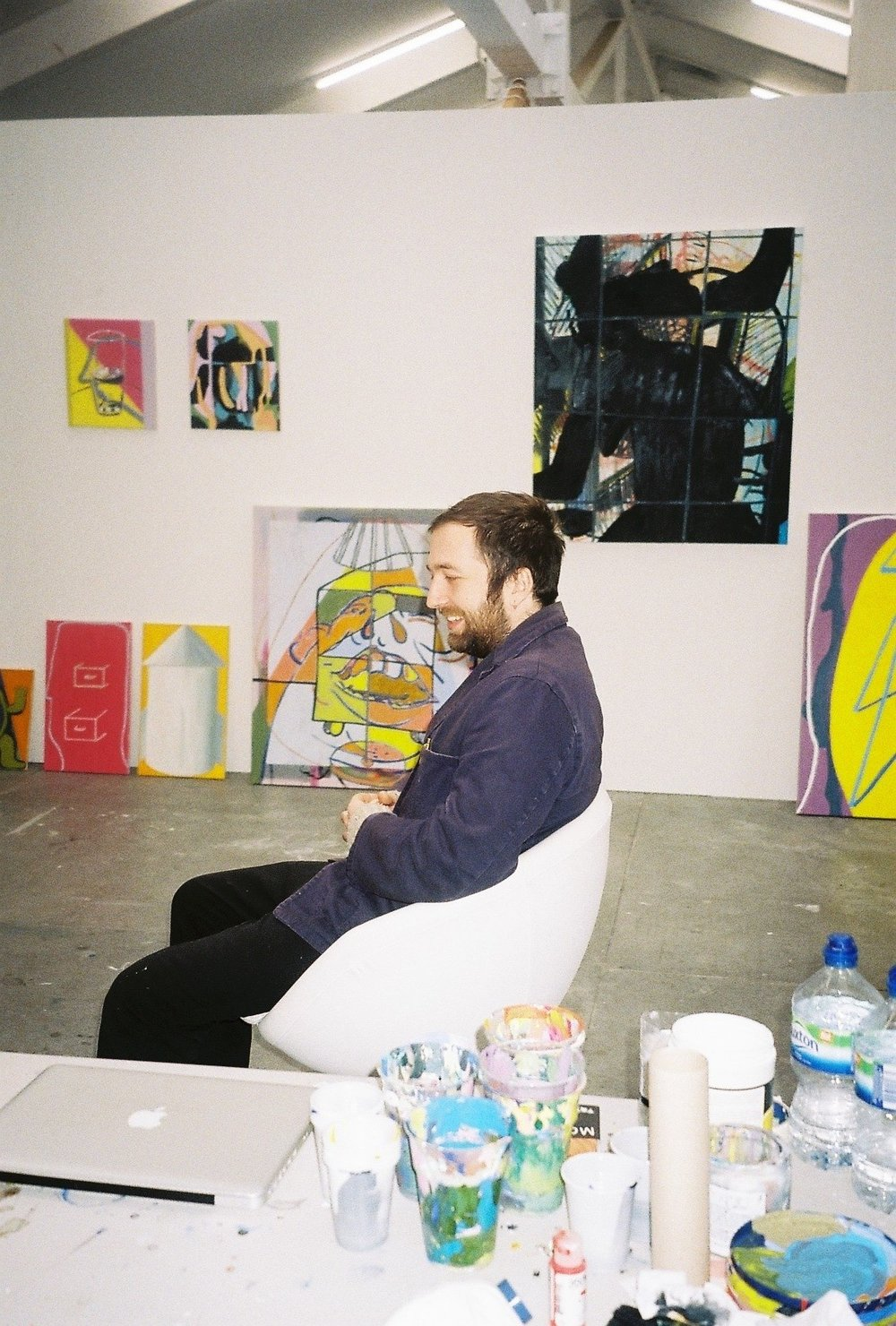 morgan wills, studio visit by dateagleart. photography by delilah olson, copyright dateagleart