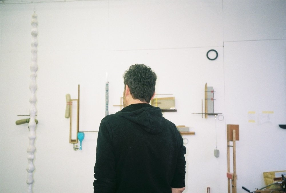 michael samuels, studio visit by dateagleart. photography by delilah olson, copyright dateagleart