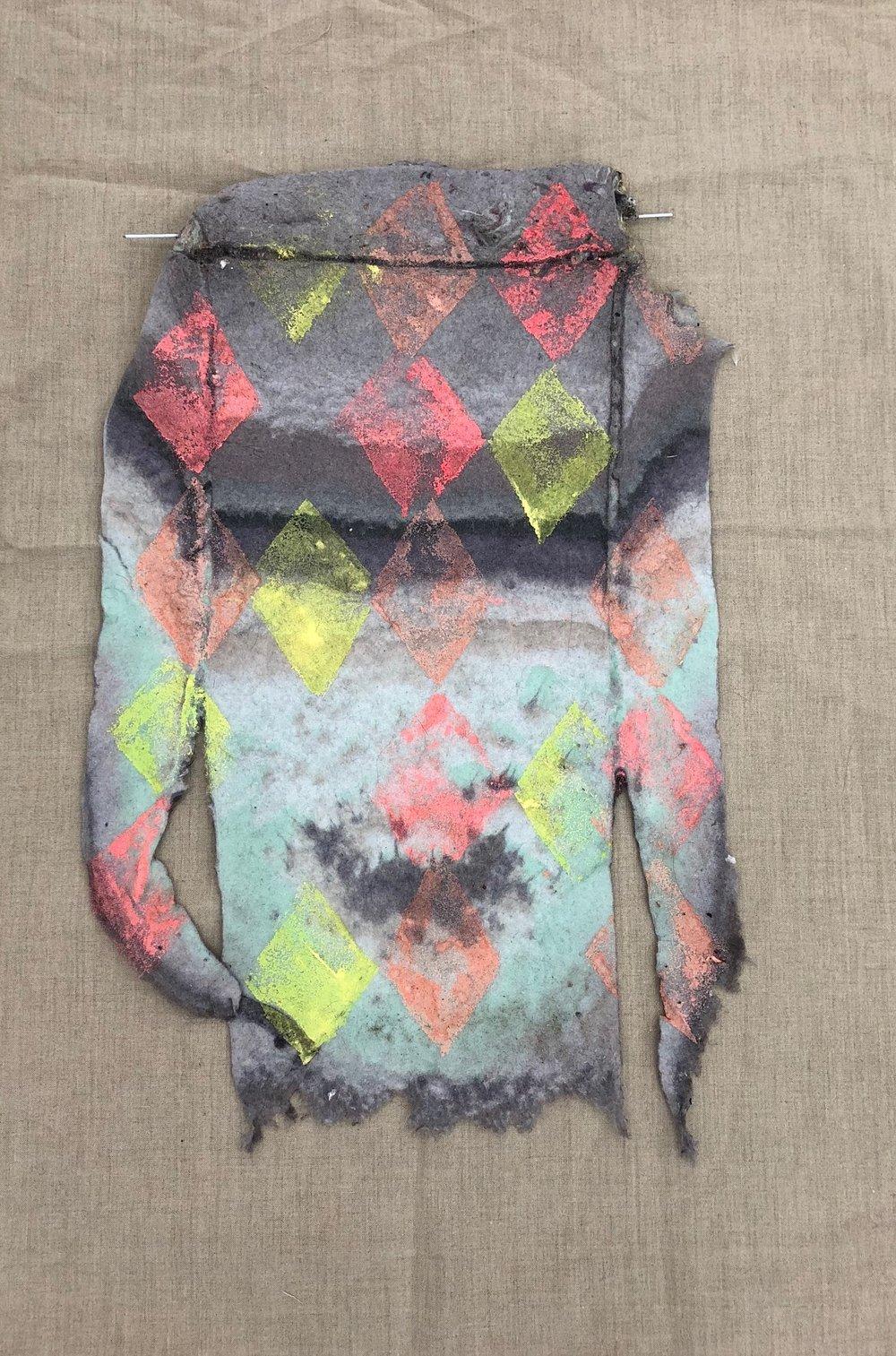 Sara Berman, Lint sweater | Photography courtesy of the artist -