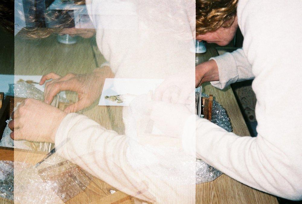 Anna Skladmann portrait, studio visit, 2018   Photography by Delilah Olson -
