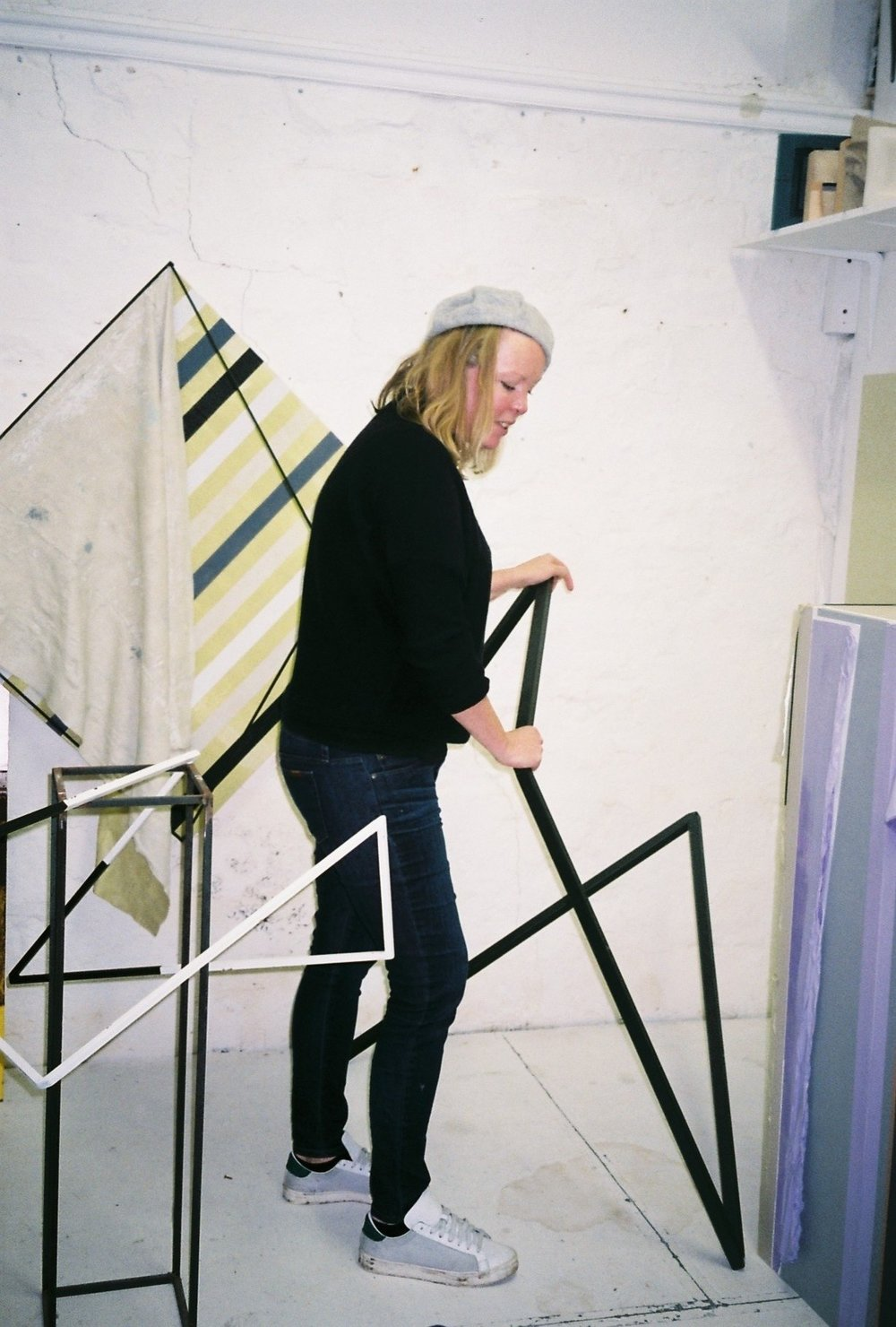andrea v wright, studio visit by dateagleart. photography by delilah olson, copyright dateagleart
