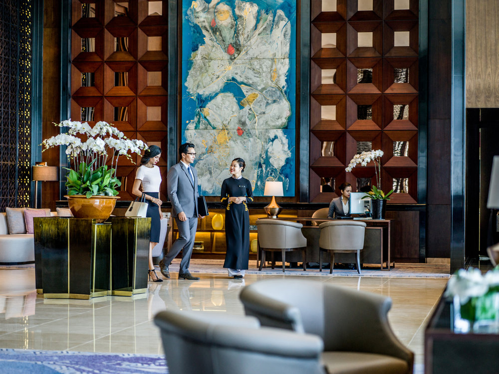 Hotels and Resorts photography for InterContinental Landmark 72 (IHG) Hanoi Vietnam by Mott Visuals - Photographer Justin Mott