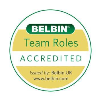 We are an accredited Belbin organization