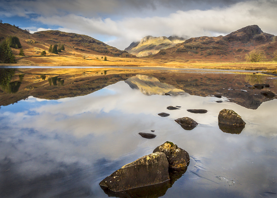 Blea Tarn reflections