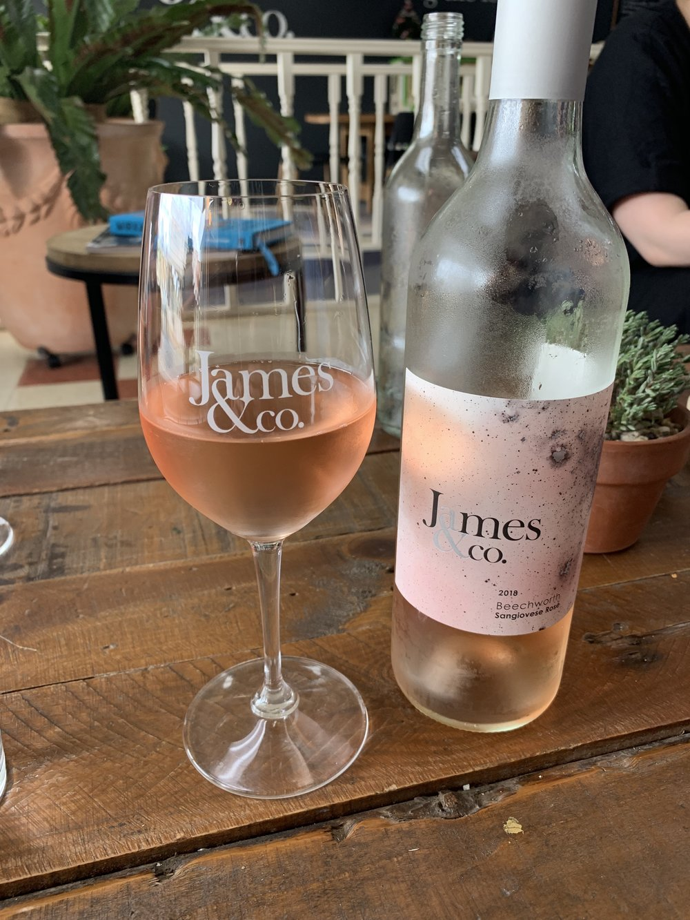 Crisp Sangiovese Rosé from James & Co.
