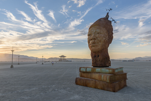 """Maya's Mind"" installation at Burning Man 2017"