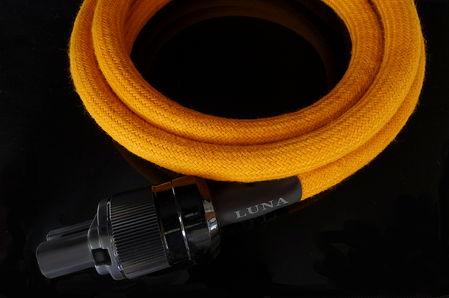 Luna Yellow Power Cable