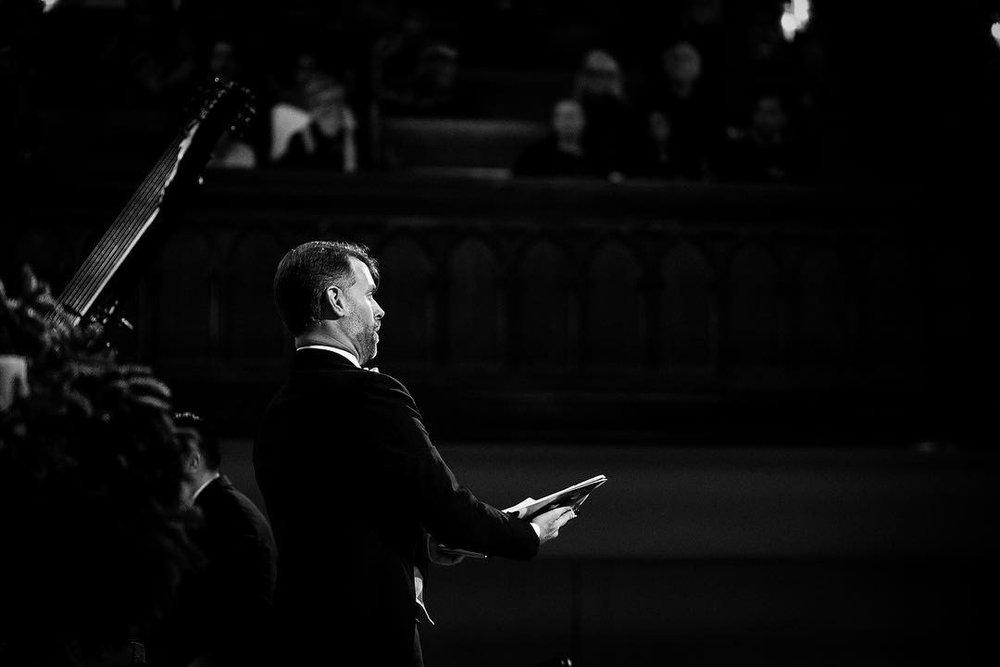 Messiah with @bachcollegiumsandiego December 2016. Photo by Gary Payne.