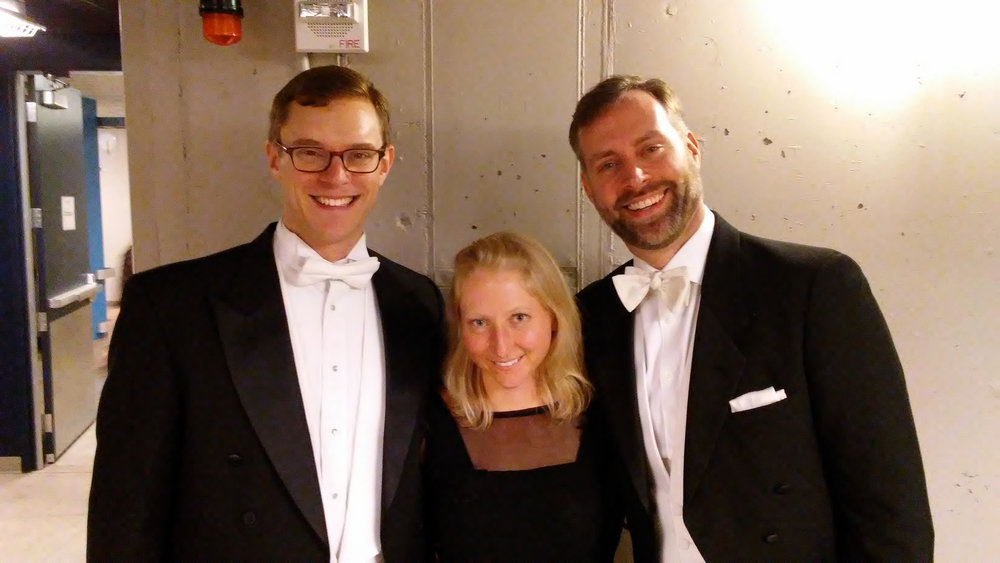 Post Messiah in Kansas City with Steven Soph & Carrie Crause