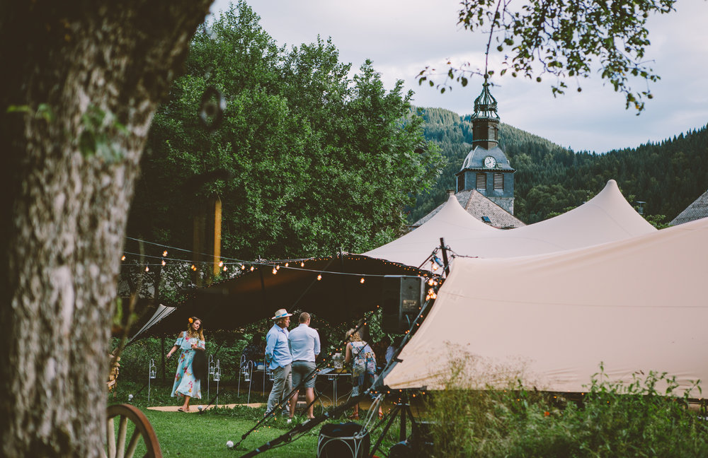 A perfect wedding in the alps