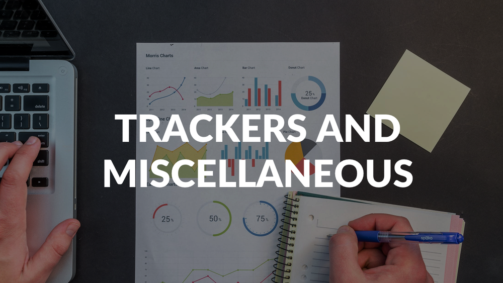 SAMPLE TRACKERS, CONFERENCE OUTPUT, SUMMER MARKETER