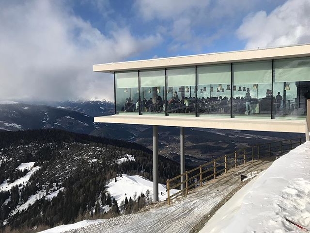 Ski, hike, or take the tram to the stunning new Lumen - Museum of Mountain Photography, a must for design lovers. Stay for a seasonal lunch of local produce at AlpiNN, helmed by three-star Michelin chef, Norbert Niederkofler.