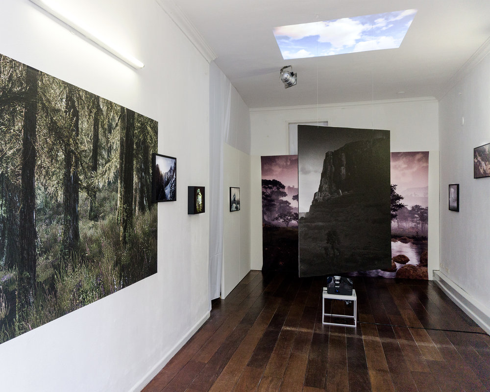 Installation view of Lost Worlds @ FFS Gallery. Foto Festival Schiedam, 2017