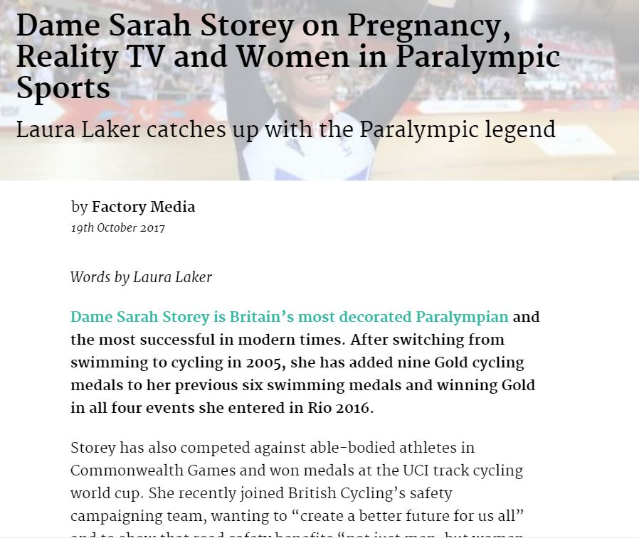 Dame Sarah Storey interview.JPG