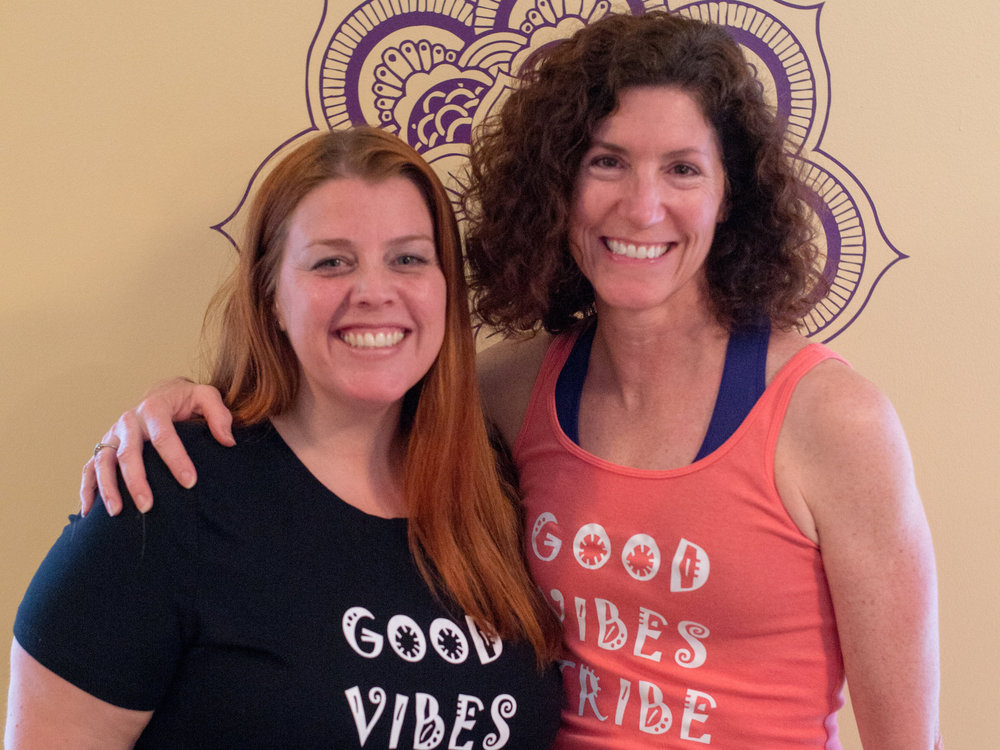Me and my incredible instructor Laura Bonanni.